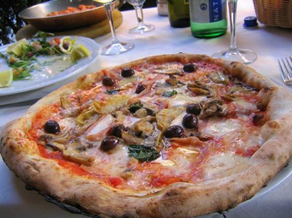 my precious pizza capriciossa.