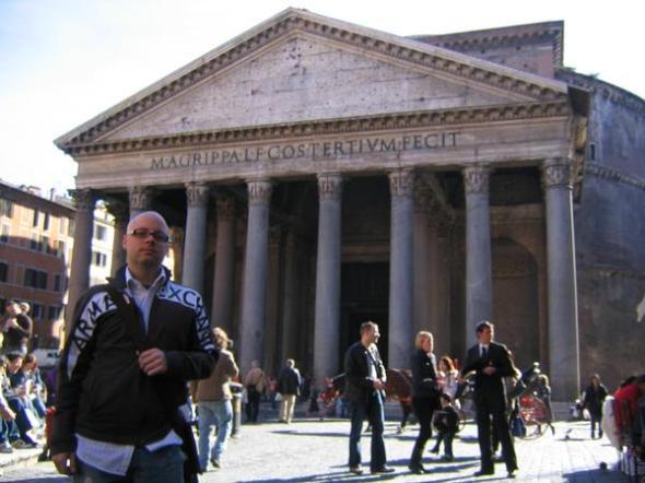 at the pantheon.