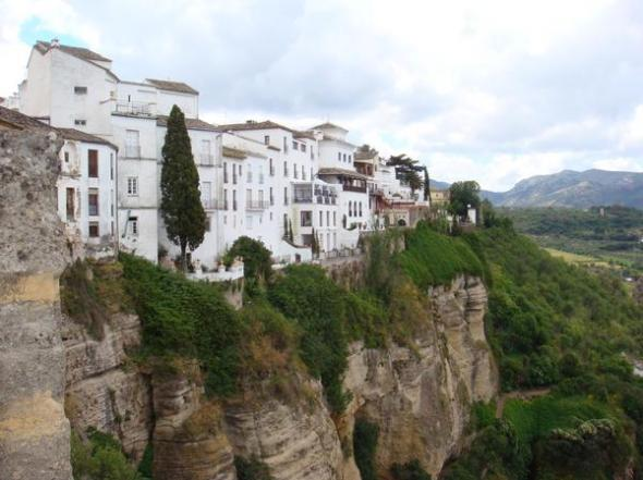 """arcos de la frontrera. one of the """"pueblos blancos"""" this is about an hour from the canton."""
