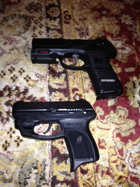the ruger LC9 and my ruger P95.