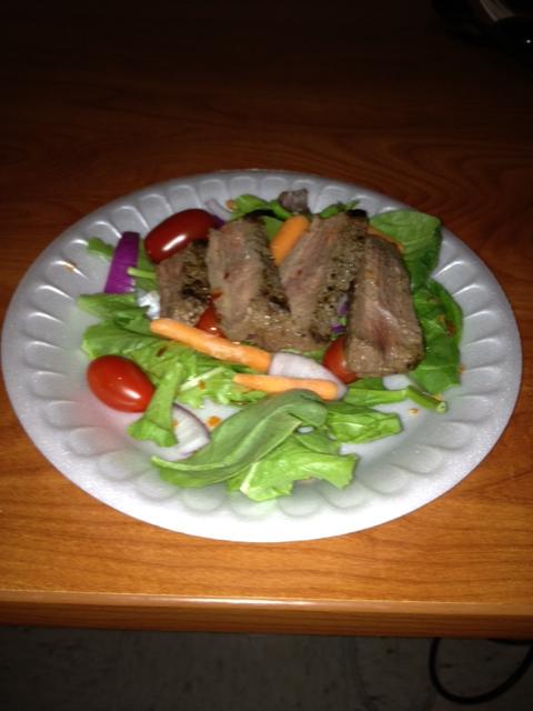 yam nuah. thai beef salad