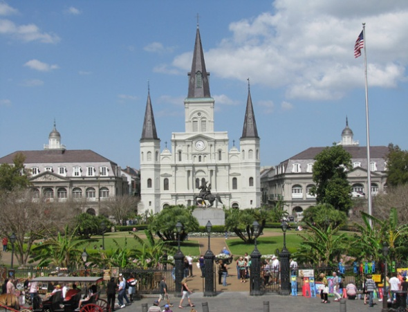 this is jackson's square