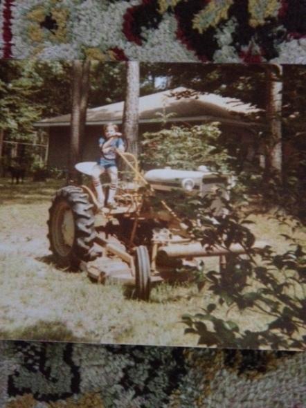 grandparents farm in 1985.
