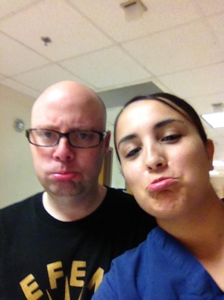 me and RaRee. she rocks a fat ass.