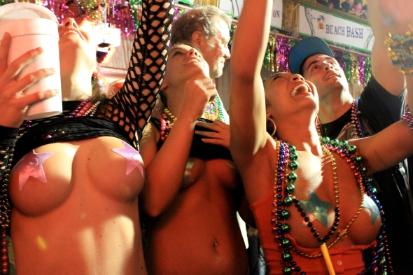 Mardi Gras: TITS!!!! or GTFO