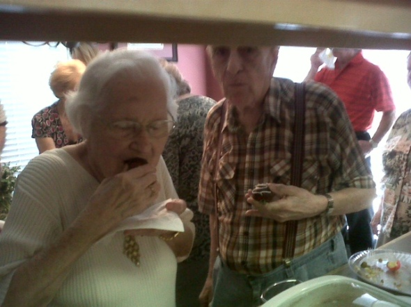 the last pic i ever took of Maw-Maw and Paw-Paw